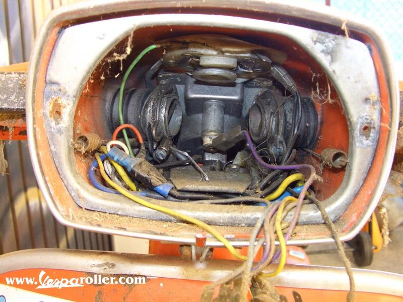 Wiring Diagram Vespa 50 Special : Wiring diagram vespa special jeffdoedesign